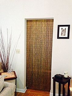 Kitchen To Living E Divider Natural Bamboo Beaded Curtain 125 Strands