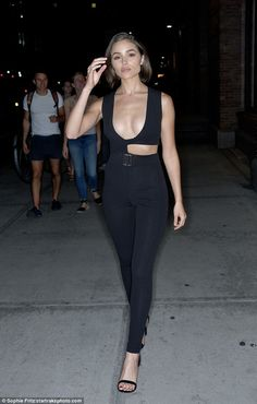 Olivia Culpo night out in New York