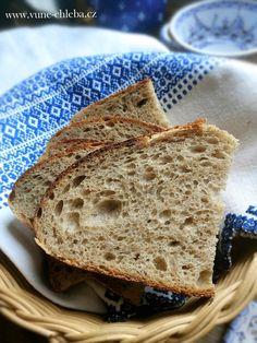 Rychlík – chléb 1-1/2-1 – Vůně chleba How To Make Bread, Bread Recipes, Pizza, Food, How To Bake Bread, Essen, Bakery Recipes, Meals, Eten