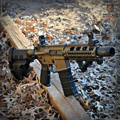 Spikes Tactical AR15 pistol in Burnt Bronze&Graphite Black