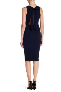 Bow Back Bodycon Dress by Soprano on @nordstrom_rack
