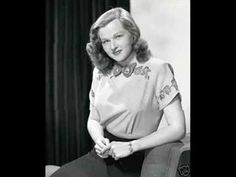 Jo Stafford - But Not For Me 1956 - YouTube