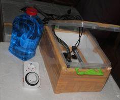 DIY Greenhouse Heater