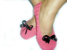 St Patrick Day Pink Healthy Booties Home slippers by NesrinArt, $21.00