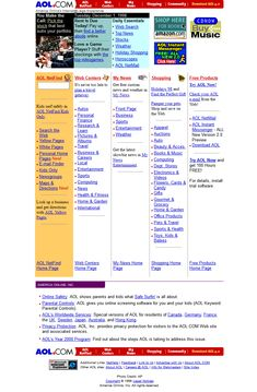 Look at how AOL website looked in 1998 and travel with us through the history of web design. Famous Websites, Design Museum, Books To Buy, Timeline, Horoscope, Growing Up, Web Design, Memories, Retro
