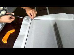Tela mosquiteira com perfil de alumínio (Montagem) - YouTube                                                                                                                                                                                 Mais