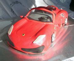 Ferrari Groom Cake