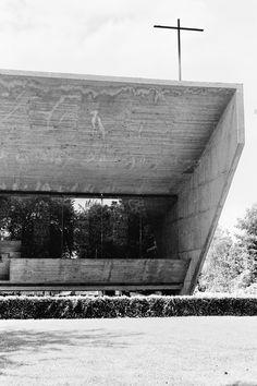 Juliaan Lampens - Our lady of Kerselare pilgrimage chapel, Edelare, 1966