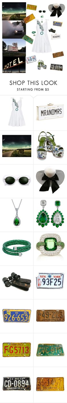 """Honeymoon Trip"" by blackmagicmomma ❤ liked on Polyvore featuring Sandro, Kate Spade, Tory Burch, Bling Jewelry, Swarovski and Martin Katz"