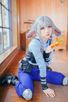 A serise of Zootopia cosplay Name of work: Zootopia Coser: Unknown PS:Images from Internet,If it is not allowed,please co. Kawaii Cosplay, Cute Cosplay, Amazing Cosplay, Cosplay Outfits, Cosplay Wigs, Best Cosplay, Cosplay Costumes, Halloween Costumes, Disney Cosplay