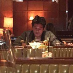 Restaurante japonês em New York, jantando com o amigo Rick Van Veen.25 de Outubro.