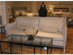 Shop For Vanguard Furniture Outlet Sofa By Vanguard Furniture, Nikola  Ivory, And Other Living Room Sofas Item Location: Hickory Store   Phone:  Limited ...