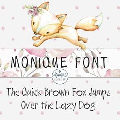 Digital Font, hand writing, Graphic Design, digital fonts, font download,whimsical font, handwritten font, fun font, planner font by MoniqueDigitalArt on Etsy