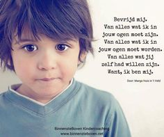 Geef onze kinderen de kans om ZICHZELF te zijn!