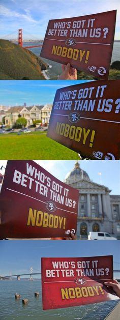 NOBODY! #49ers