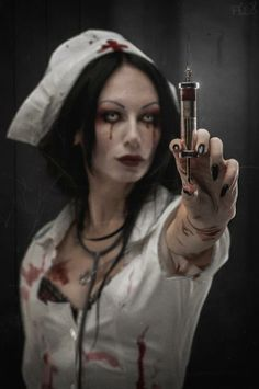 Nurse - Makes me antsy... http://HalloweenMarketplace.com