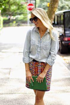 GiGi New York | Styled Snapshots Fashion Blog | Kelly Green All In One Clutch