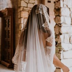 This Ivory Spanish Lace Veil is handmade Spain with soft tulle and beautiful Spanish lace. Comb is attached with or without a blusher, bride's choice! Spanish Wedding Veils, Spanish Veil, Mantilla Veil, Lace Veils, Drop Veil, Wedding Hair And Makeup, One Shoulder Wedding Dress, Wedding Hairstyles, Ball Gowns