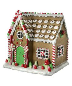Look what I found on #zulily! Small Candy House Figurine #zulilyfinds