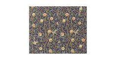 Design för mönster för tapet för William Morris fågel- och Pomegranatefrukt  William Morris var en engelsk konstnär, en författare, en textilformgivare och ett socialistiskt tillhörande med Pre-Raphaelitebrödraskapet och engelskakonsthantverkrörelsen. Denna ursnygga tapetdesign visar fåglar amidst grenar av lövverk- och pomegranatefrukter.  Konst av William Morris  Rörelse: Konsthantverk/art nouveau  Dekorativ konst för härlig utsmyckad konstnärlig blom- vintage som presenterar pomegrana...
