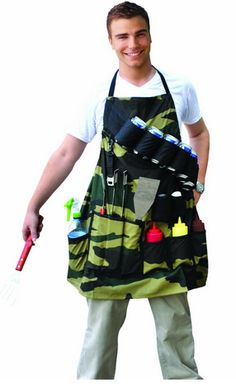 Great for the griller in your home! The Grill Sergeant BBQ Apron - A Thrifty Mom