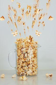 Savoury Smoky Cheesy Popcorn!
