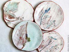Тарелки ручной работы. Керамические пиалы тарелки. Viktory-decor (ceramics). Интернет-магазин Ярмарка Мастеров. Бирюзовый, авторская посуда