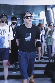 [Picture/Fansitesnap] BTS Arrival at Incheon Airport From KL-Malaysia [150607] | btsdiary
