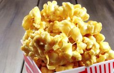 Gluten Free Dessert: Caramel Marshmallow Popcorn... so good!