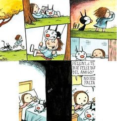 HISTORIETAS DE LINIERS Alter Ego, Humor, Pretty Good, Illustrators, Peanuts Comics, Kitty, Cartoon, Manga, My Love