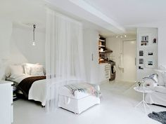 Apartamento super-compacto na Suécia — Referans