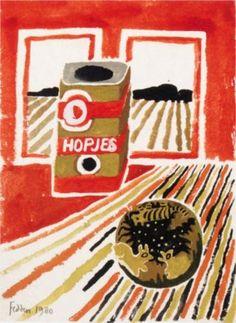 Still Life with Coffee Jar - Mary Fedden