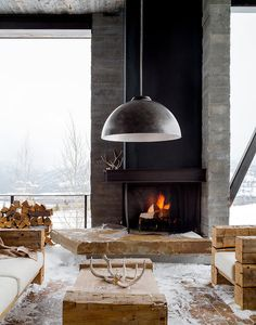 Modern Rustic Inspiration- the whole post has inspiring images