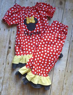Check out this item in my Etsy shop https://www.etsy.com/listing/469893960/girls-minnie-mouse-outfit-minnie-mouse
