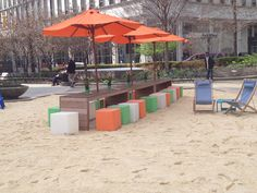 The BEACH @ Campus Martius Park #detroit