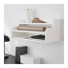 IKEA - KLIMPEN, Add-on unit, white, , Can be placed on a table top or hung on a wall.