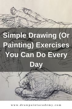Simple drawing exercises simple drawing or painting exercises you can do every day Drawing Skills, Drawing Lessons, Drawing Projects, Drawing Tips, Anatomy Drawing Practice, Drawing Techniques Pencil, Teaching Drawing, Sketching Tips, Gesture Drawing