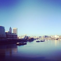 Good morning London. Lovely day for a fashion show! Don't miss #TopshopUnique streamed live at 3pm. #lfw #aw14 #catwalk #london #blackfriarsbridge