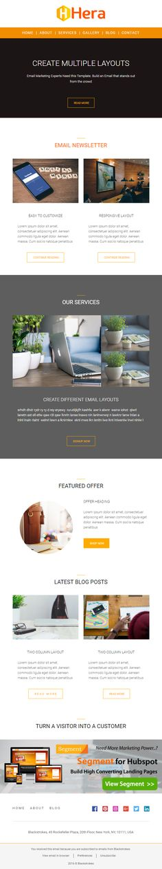 Althea Newsletter Email Template Is The Best Newsletter Template