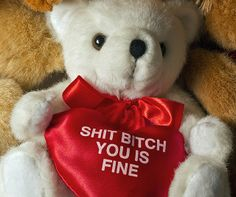 @Wendy Greene is this the valentine's bear you want? Fancy - Bad Valentine Bear