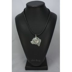 Necklace covered thin layer of silver (3)