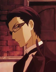 William T. Spears - Don't know why but anime guys look sexy with glasses. Especially William T. Spears [Black Butler]