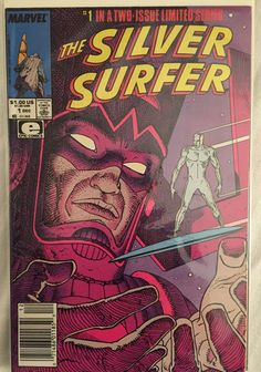The Silver Surfer (Vol.2) #1 - Marvel Comics - Dated 12/1/1988