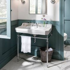 Discover the stunning Burlington Edwardian Basin and Chrome Wash Stand. A fantastic way to improve the look of your traditional bathroom. Now online. Bathroom Mold Remover, Mold In Bathroom, Boho Bathroom, Budget Bathroom, Small Bathroom, Bathroom Remodeling, Family Bathroom, Bathroom Sinks, Bathroom Shelves