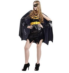 Cool Adult Bat Cosplay Costume Masquerade Party for Women