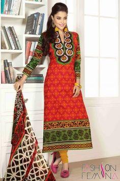 Printed Casual Salwar Suit #casualsalwarkameez #printedsalwarsuit #lowpricewomendresses #cheappricedresses