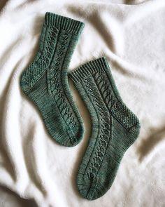 Ravelry: Wood Nymph pattern by This Handmade Life – Knitting Socks Knitting Stitches, Knitting Designs, Knitting Socks, Knitting Patterns Free, Knitting Projects, Baby Knitting, Knitting Tutorials, Knitting Machine, Vintage Knitting