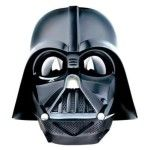 You can sound like Darth Vader in your Voice Changer Helmet. Helmet looks like the one worn by Darth Vader in the Star Wars epic. Helmet says Darth Vader movie lines and makes mechanical breathing sounds. Darth Vader Star Wars, Darth Vader Maske, Mascara Darth Vader, Darth Vader Voice Changer, Voice Changer Mask, Darth Vader Costumes, Star Wars Costumes, Star Wars Games, Star Wars Toys