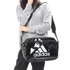 f36ea188210 adidas Enamel Shoulder Bag Small Baseball Gym Hiking Travel Casual Black  CX4046 880925849652   eBay