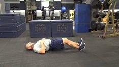 Lying leg curls is a primary isolation exercise which focuses on strengthening and increasing the flexibility of hamstrings and calf muscles. Lying Leg Curls, Glute Bridge, Glutes, At Home Workouts, Toy Chest, Storage Chest, Hold On, Positivity